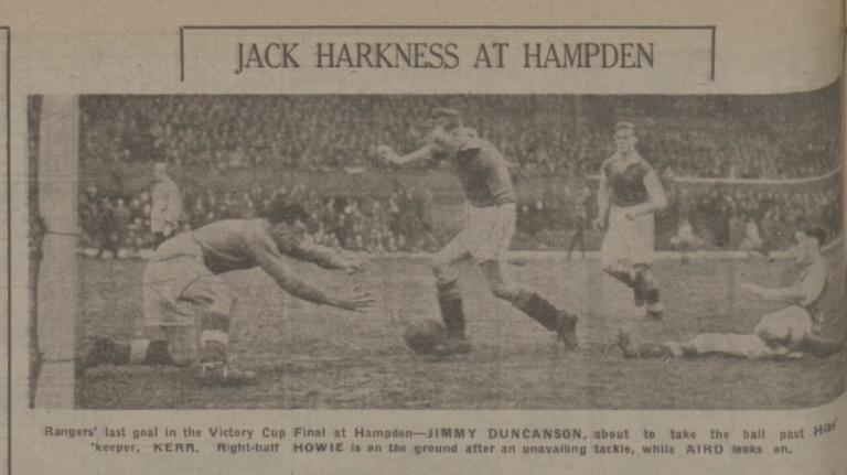 Rangers v Hibs 1946