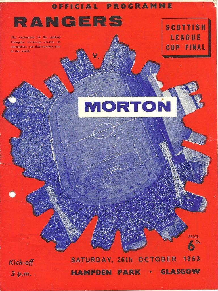 1963 League Cup Final Programme