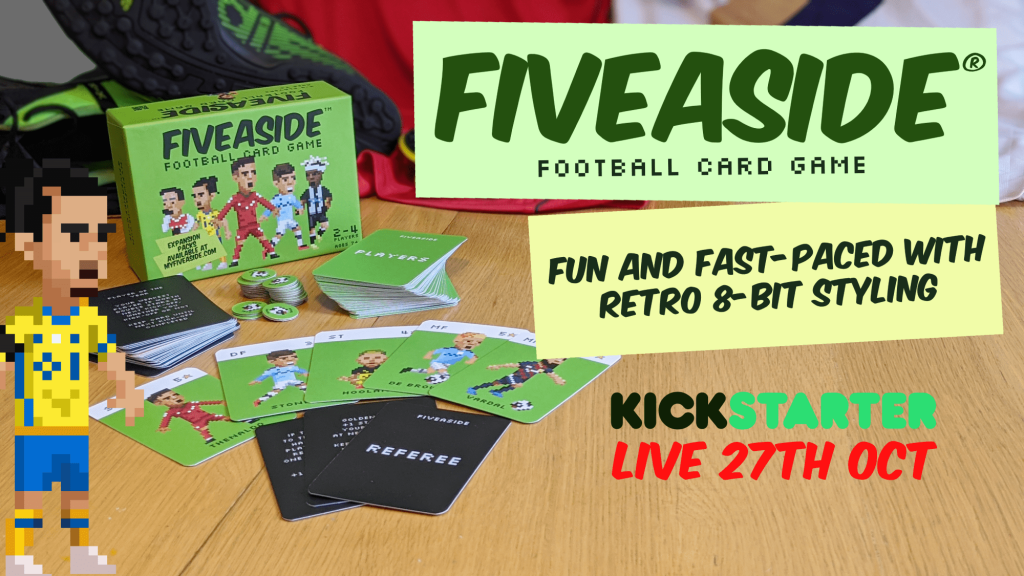 Fiveaside Kickstart Promo