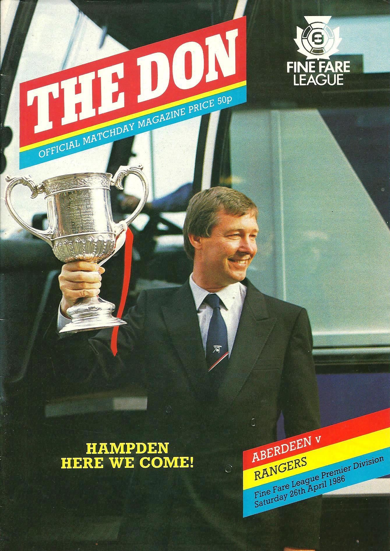 Ferguson as Scottish Cup Winner